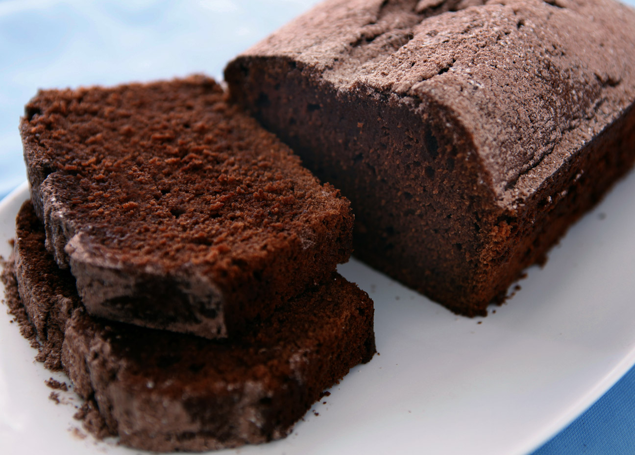 Easy Sour Cream Chocolate Pound Cake