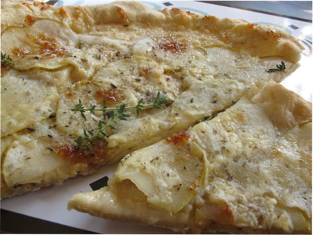 pizza de pera y brie copia