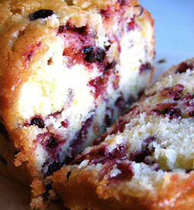 berrie pound cake