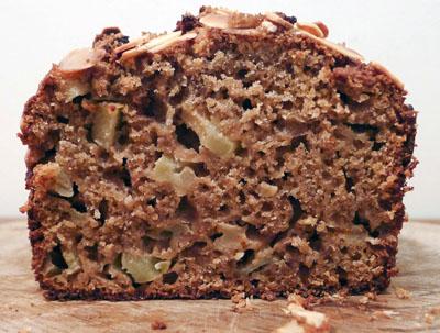 Receta f cil de pastel de manzana y canela el past s for Bizcocho de manzana y canela
