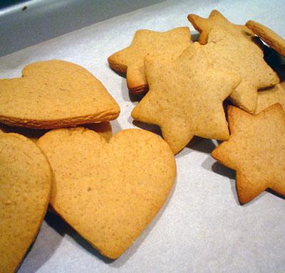 gengibre cookies