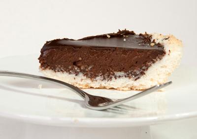 tarta de coco y choc