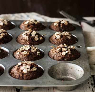 muffins de choc y avena1